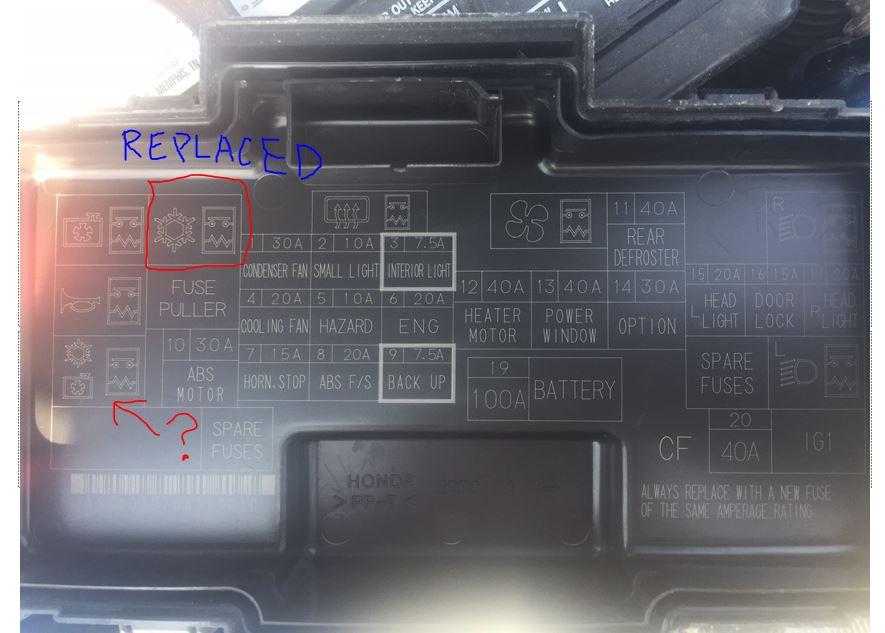 Rsx Fuse Relay Box - Catalogue of Schemas Acura Rsx Fuse Box on